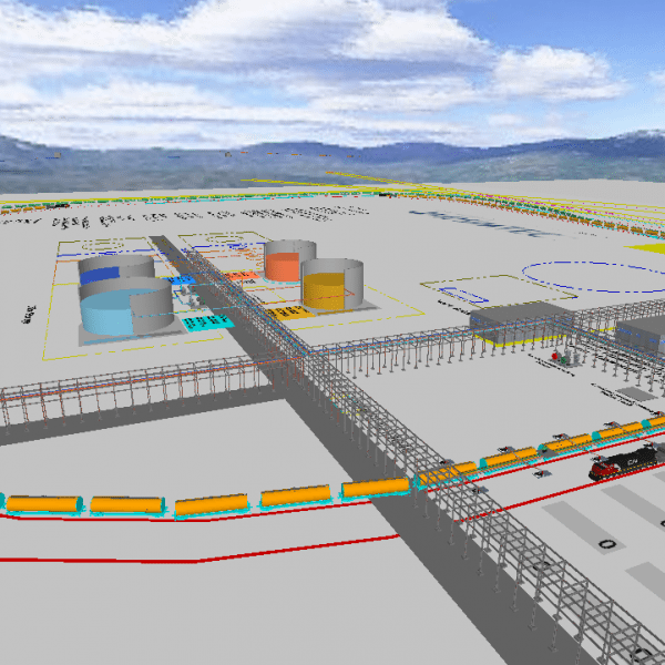 Oil and Gas Transload Facility