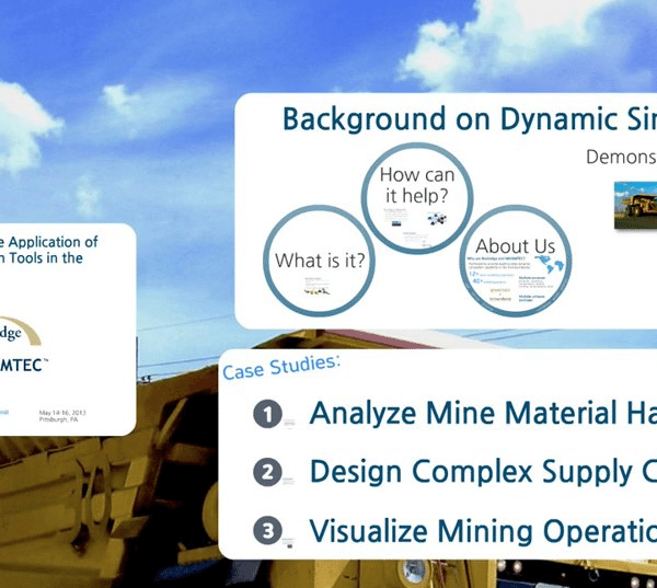 Application of Dynamic Simulation Tools in the Mining Industry