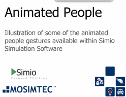 People Animation in Simulation Models