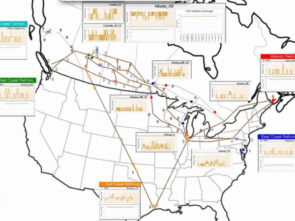 North American Rail Network