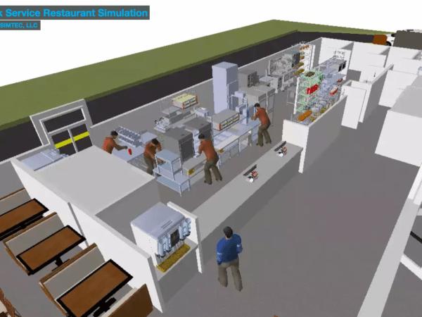 Quick Service Restaurant Simulation