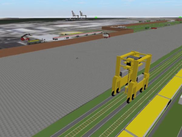 Intermodal Port Terminal