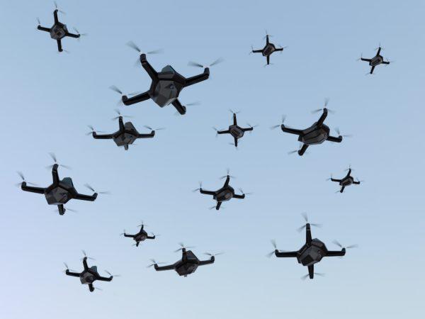 Drone / UAV Network Simulation